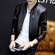 In the spring of 2017 new men's jacket jacket men's casual dress young Korean cultivating trend in spring and Autumn