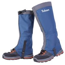 Snow set outdoor mountaineering hiking desert anti-sand shoe set mens ski equipment waterproof protective leg sleeve female