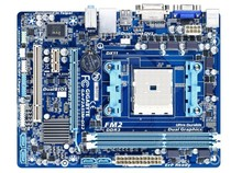 filling the new! Gigabyte / Gigabyte F2A55M-DS2 A55 FM2 motherboards set was small solid-state plate