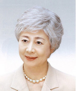 Elderly female white wig wig oblique bangs short hair and straight hair give mom show granny Weijuan NEW