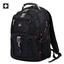 Swiss Army Knife Shoulder Bag Male Swiss Army Knife Business School Bag Leisure Male Large Capacity Travel Computer Backpack