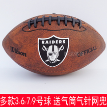 Wilson win American rugby genuine Teen student Children No. 7th 6th 3 5th NFL Rugby