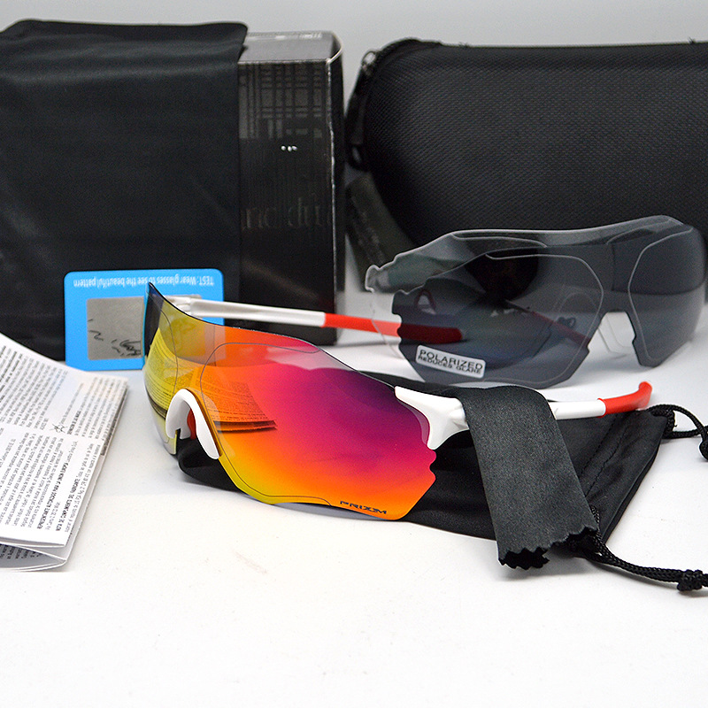 New Oakley O Record EVZERO O OO9313 Cycling Glasses, Solar Sports Running Glasses, Three Full Films