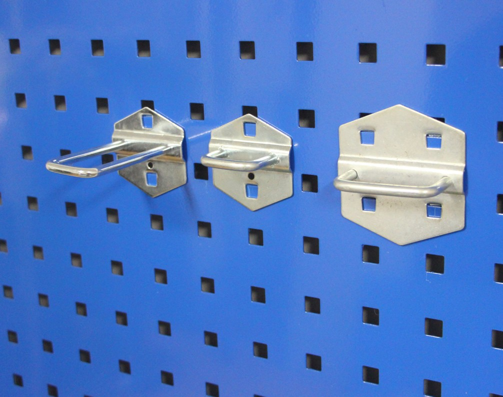 Wrench frame square hole hole plate hook gold tool hook material finishing rack hook storage hook