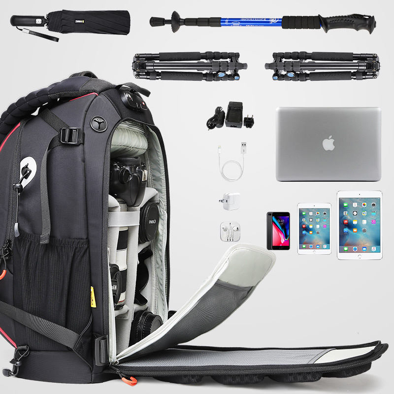 Anno Professional Photography Shoulder Large Capacity Multifunctional National Geographic Canon Nikon Sony SLR Camera Backpack