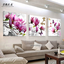 Chinese style living room decorative painting sofa background wall painting dining room mural bedroom bedside hanging painting modern simple frameless