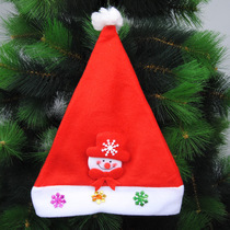 Christmas decorations Christmas hat Kids hat Christmas presents Christmas adult childrens hat cartoon hat