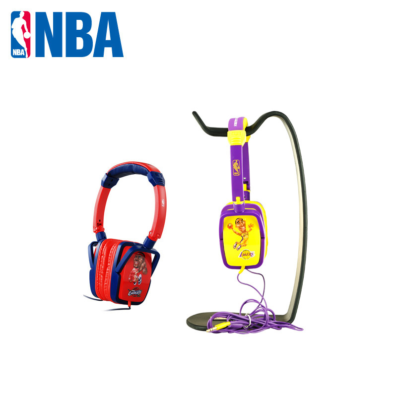 NBA counters authentic: NBA Kobe Bryant fashion headphones wearing laptop headphones special price