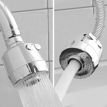 Faucet splash sprinkle stainless steel kitchen home filter can be universal Rotary shrink nozzle water