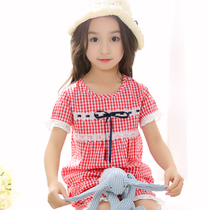 Kids Girls cotton thin baby girls summer home Wear