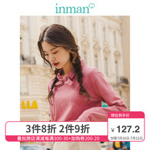 Yinman spring and autumn new half high collar sweater for women's slim fitting and bottoming top