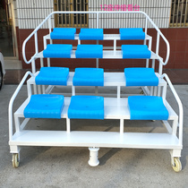 Stadium athletics venue stand retractable end referee Table End time Table 27 18 9 Block removable