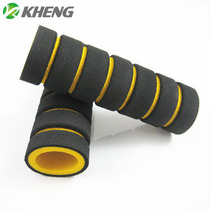 Promotion of bicycle and motorcycle sponge handle sleeve anti-skid soft handle sleeve modified into general-purpose four bicycle accessories