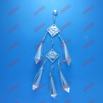 Miao clothing silver jewelry silver piece accessories national clothing accessories COSPLAY garment accessories DIY/9