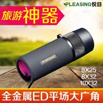 Agréable petit bâton 8 x 25 32ED 10 x 32ED objectif caméra mobile portable télescope à un baril