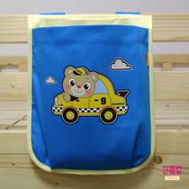 幼儿园定制版椅背挂袋卡通纯棉床边挂袋尿不湿挂袋收纳袋杂物袋