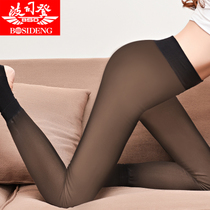 Bosideng anti-hook Silk flesh color thick pile big tights