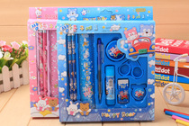 Boutique stationery set student learning supplies childrens birthday creative gift nine sets
