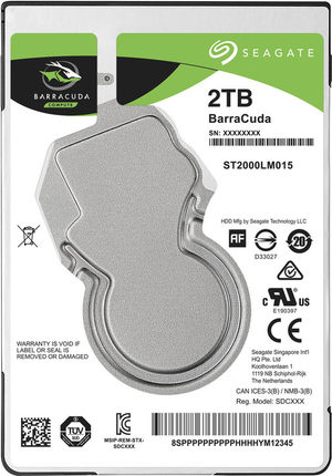 Seagate Seagate ST500LM030 New Cool Fish 500GB Laptop Hard Disk 2.5 inch 128M Hard Disk