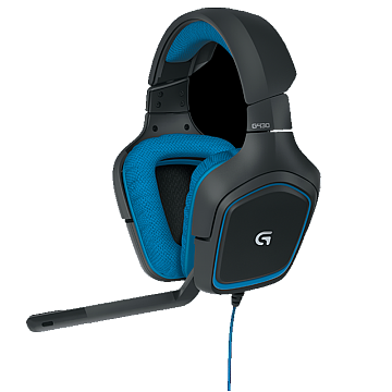 SF Logitech/Logitech Gaming Headset Microphone G430 7.1 Channel Dolby