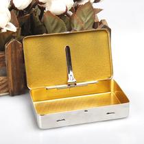 Wire box Metal portable wire box seal moisturizing personality metal box bucket accessories men