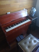 Shanghai Brand 506 pedal organ nostalgic classic produced by Shanghai Piano Factory in the 60