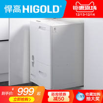 Higold Hummer High Cabinet Michola Basket damping Guide Rail 30kg large capacity multi-function storage One click to take rice