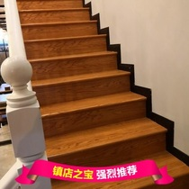 Factory direct composite floor stairs stepping board comes with a round edge shut simple installation export quality