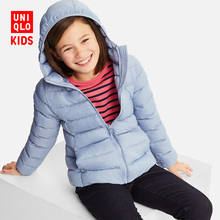 Children's wear / girls' light WARM PADDED Hooded Coat 408621