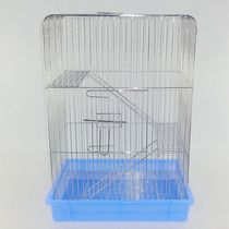 The three-layer electroplating standard cage stainless steel squirrel cage is a special cage for pet pnage dragon cat cage sage squirrels.