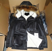 South Korean factories pay off! Export the entire single elephant skin imitation fur high-end real raccoon fur collar