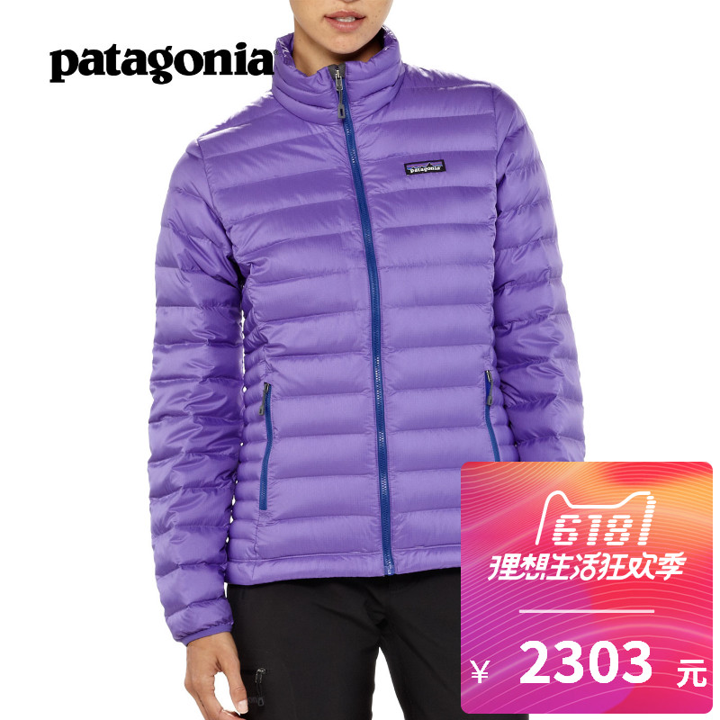 Ms. PATAGONIA Down Sweater, Patagonia, outdoor warm down jacket 84683 in autumn and winter