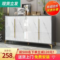 Lumière de luxe porte-chaussures maison porte simple moderne porte dentrée simple petit appartement couloir armoire nouveau 2020 populaire