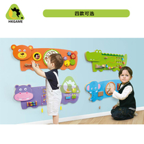 Kindergarten Game toys early teach children puzzle wall toy boutique Wall game Operation Board Wall Decoration