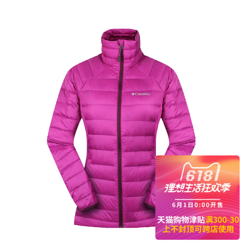 [The goods stop production and no stock][Clearance] Autumn and winter Columbia Columbia down jacket female outdoor warm jacket WR1007