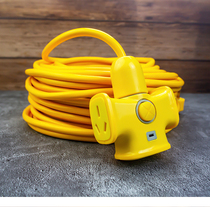 Extended line Electric Vehicle Charging Plug and row extension cord socket super long drag line Board 5 meters 20 meters 30 meters card with line
