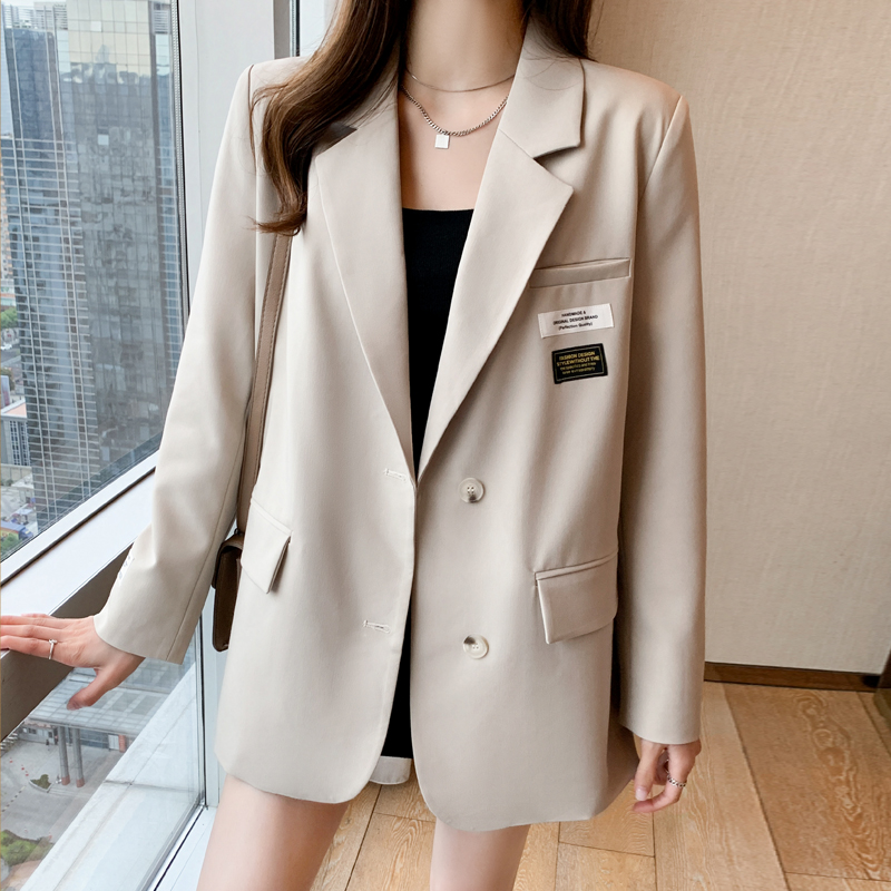 Early spring fried street casual small blazer women spring and autumn 2021 spring new high-end fan net red suit women burst models