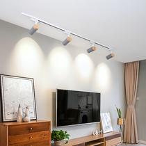 Nordic Track Light бытовой потолочный светодиодный прожектор магазин одежды креативная гостиная фон стена коммерческий рельс свет