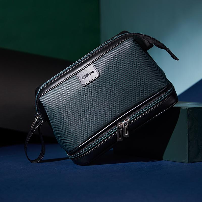 Travel storage bag dry and wet separation wash bag simple waterproof large capacity portable business mens makeup bag