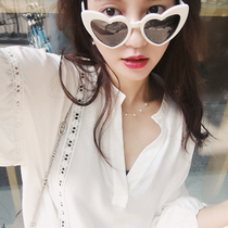 Lâches Zhang Dayi brodé manches bulle chemise dentelle