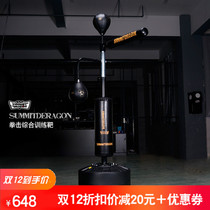 Boxing comprehensive training reaction target rotating stick target home dodge training equipment adult children vertical speed ball