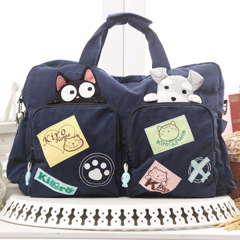 New Taiwan Qile Cat Partners Travel Wind Multifunctional Travel Bag 211142