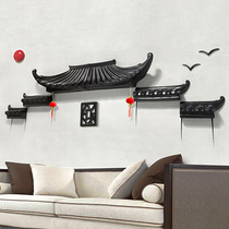 Vintage style new Chinese-style 3d three-dimensional guest house restaurant corridor creative decoration wall decoration pendants