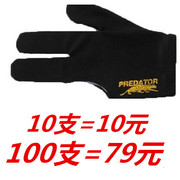 Shipping billiards gloves mitts three finger gloves special female black gloves left billiards table tennis right