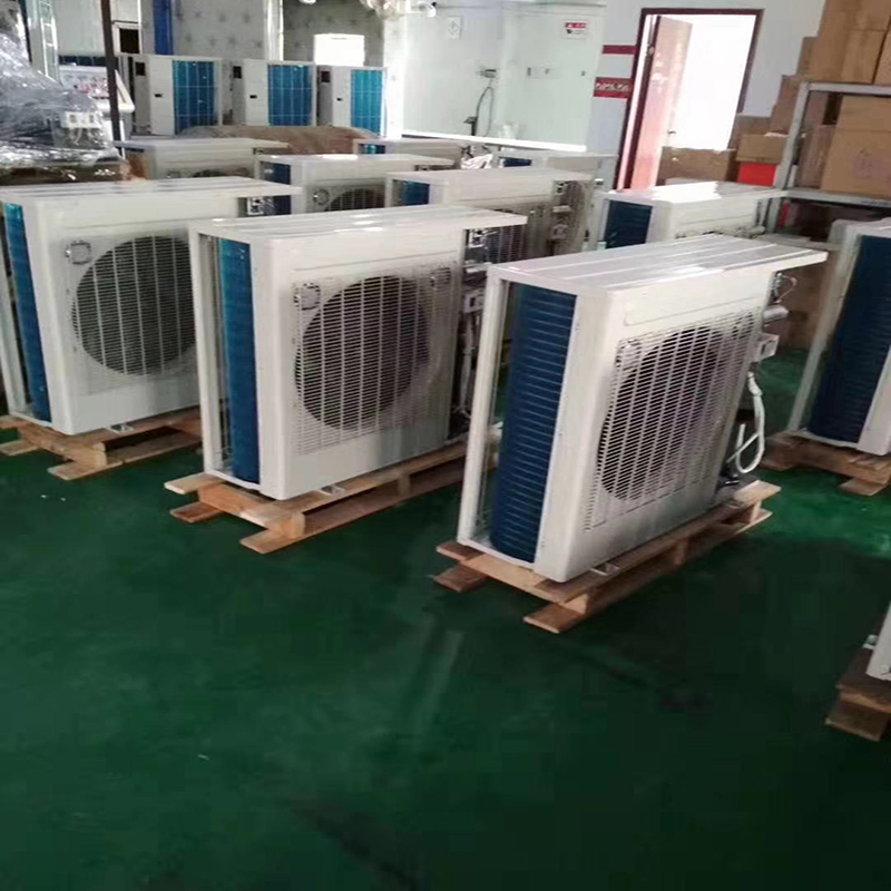 Wide ice cold storage a full set of equipment refrigeration unit original Emerson Valley wheel unit small refrigeration cold storage