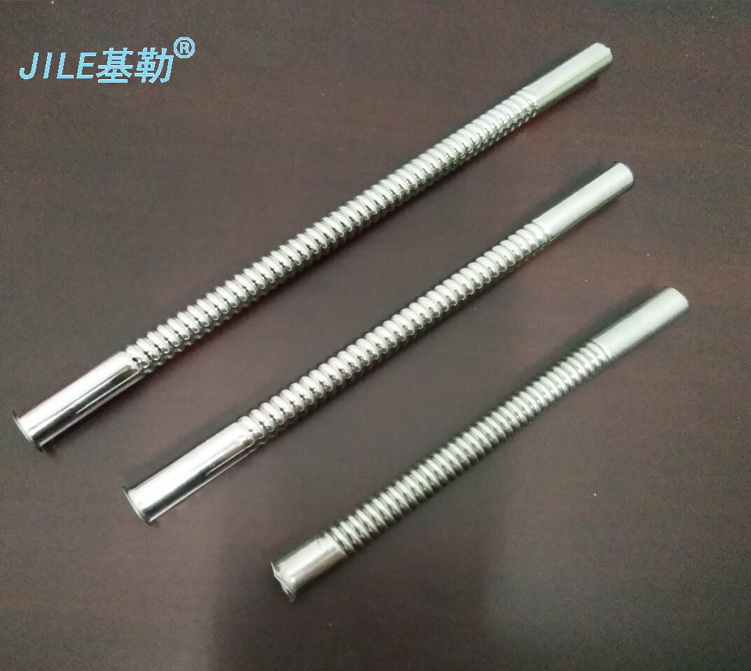 Stainless steel bellows inlet hose urinal fittings urinal bucket delay valve flush pipe stainless steel drainage pipe