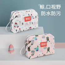 Baby diapers bag out waterproof portable baby diapers diapers wrapped clothes diapers bag