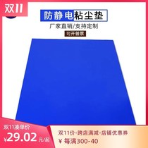 Dust-free room sticky dust mat tearable workshop door anti-static household wind shower room experimental operating room foot pad