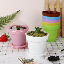 DIY baking potted cake cup pudding cup wood cup West point ice cream pot yogurt mousse cup with cover shovel.