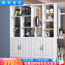 Into the door Xuanguan cabinet shoe cabinet cut off the modern simple room cabinet double-sided against the wall screen cabinet decorative rack wine cabinet